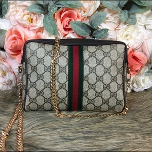 Authentic GUCCI Sherry Line Clutch